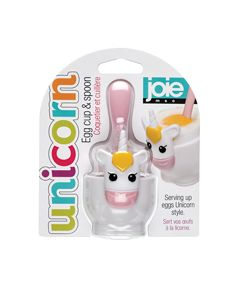 Joie Unicorn Egg Cup & Spoon