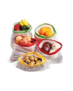 HIC, Harold Import Produce Bags, Set of 5