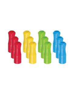 HIC Silicone Straw Tips, Set of 12