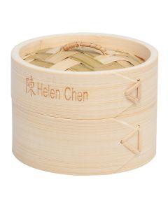Helen  s Asian Kitchen Dim Sum Bamboo Steamer