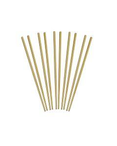Helen Asian Kitchen Gold Chopsticks, 5 Pairs