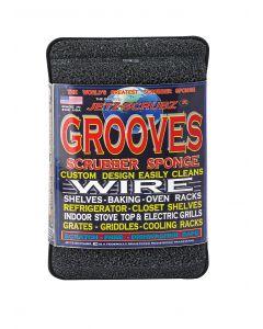 Jetz Scrubz Grooves Scrubber Sponge